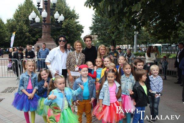 Благотворительный фестиваль «Добрая Москва» в честь празднования 868-летия Москвы.